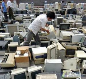 报废电脑回收,电脑显示器回收